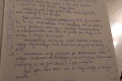 Sanktuarium B M Bielsk Podlaski - Wpis do księgi pamiątkowej.