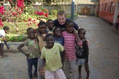 Projekt Zambia Grupowe z dziećmi z sierocińca misjonarza świeckiego Marka Szymańskiego